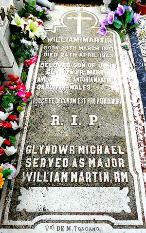 william martin tomb